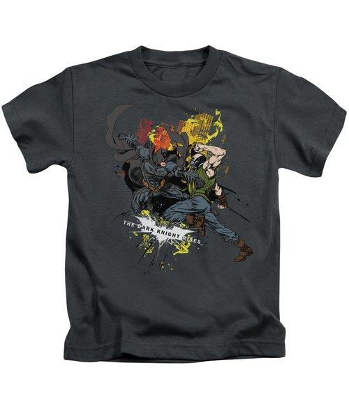 Dark Knight Rises - Fight For Gotham Kids T-Shirt