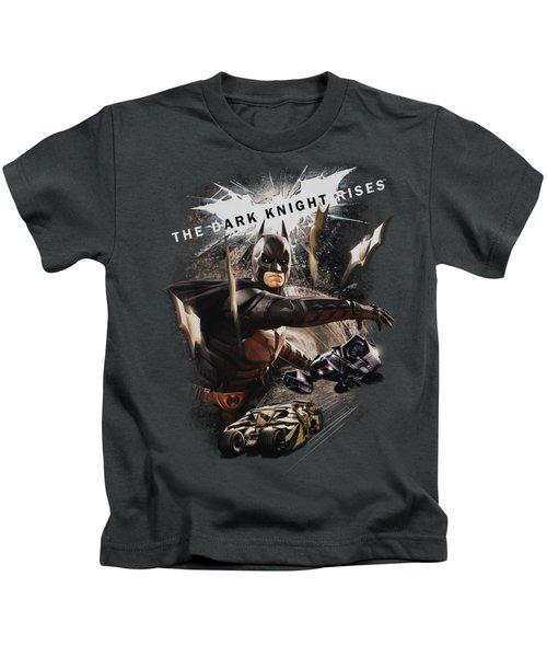 Dark Knight Rises - Imagine The Fire Kids T-Shirt