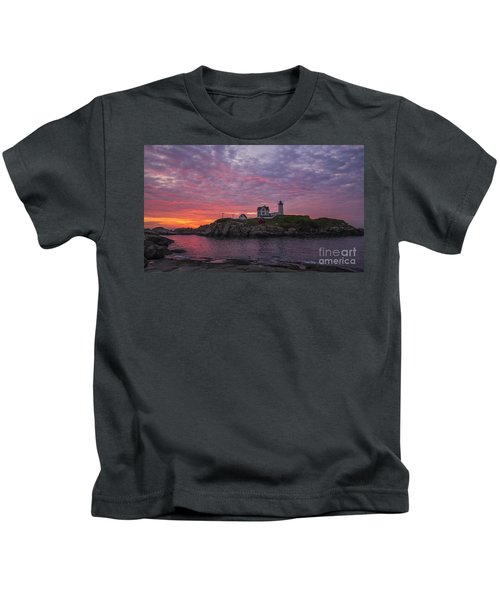 Dawn At The Nubble Kids T-Shirt