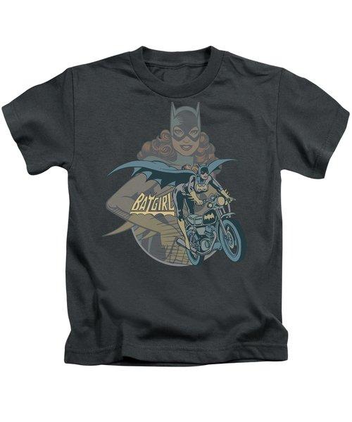 Dc - Batgirl Biker Kids T-Shirt