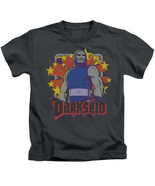 Dc - Darkseid Stars Kids T-Shirt