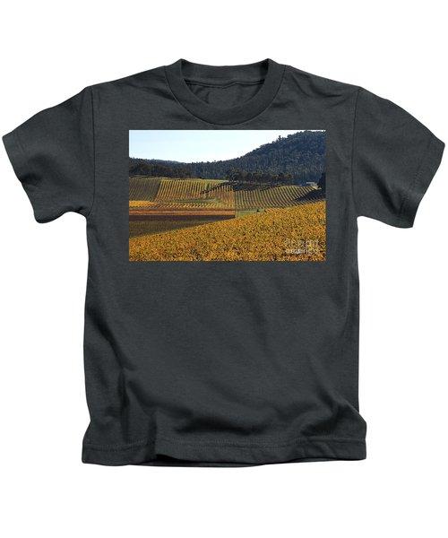 golden vines-Victoria-Australia Kids T-Shirt
