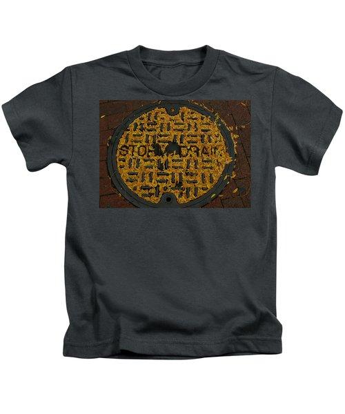 De Stijl Drain Kids T-Shirt