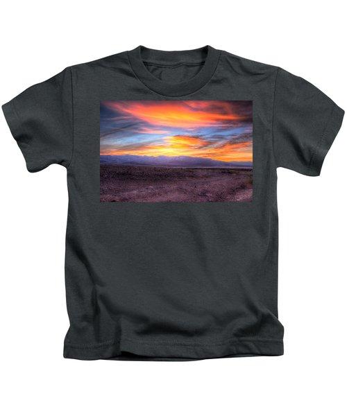 Death Valley Sunset Kids T-Shirt