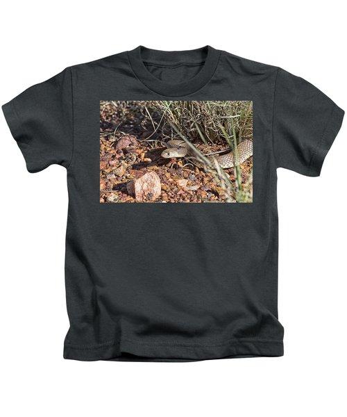 Defensive Striking Poise Kids T-Shirt