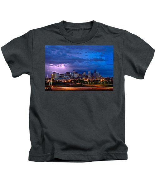 Denver Skyline Kids T-Shirt