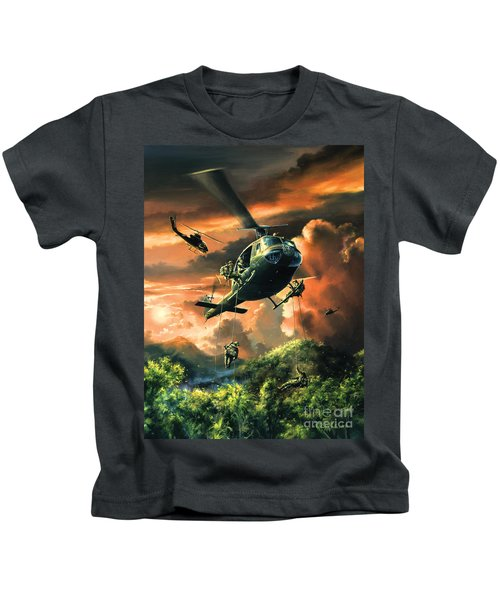 Descent Into The A Shau Valley Kids T-Shirt