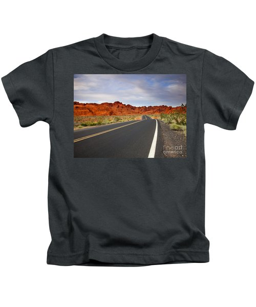 Desert Highway Kids T-Shirt