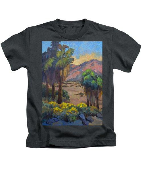 Desert Marigolds At Andreas Canyon Kids T-Shirt