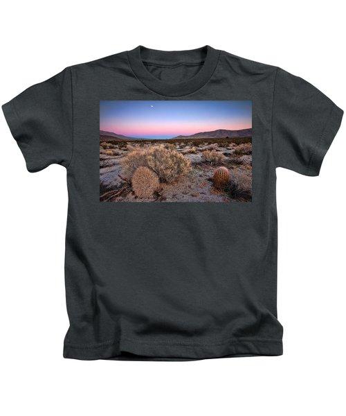 Desert Twilight Kids T-Shirt