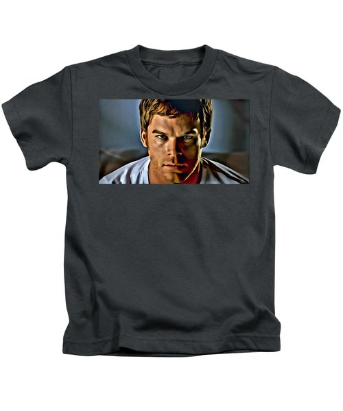 Dexter Portrait Kids T-Shirt