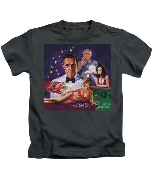 Diamonds Are Forever Kids T-Shirt