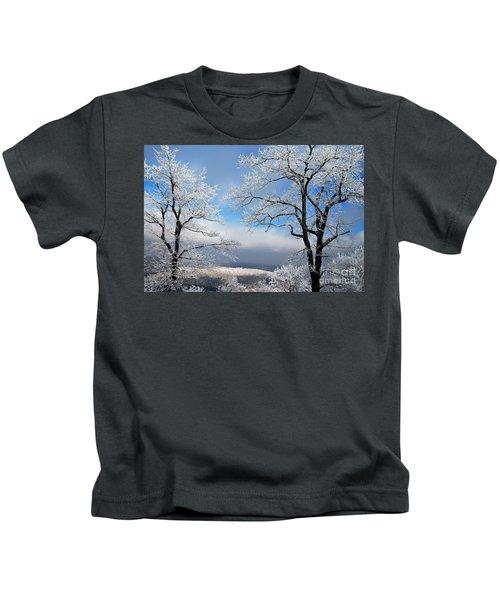 Distant Storms Kids T-Shirt