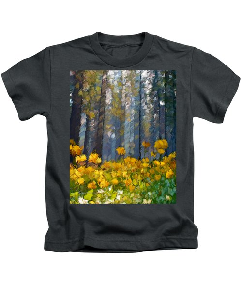 Distorted Dreams By Day Kids T-Shirt