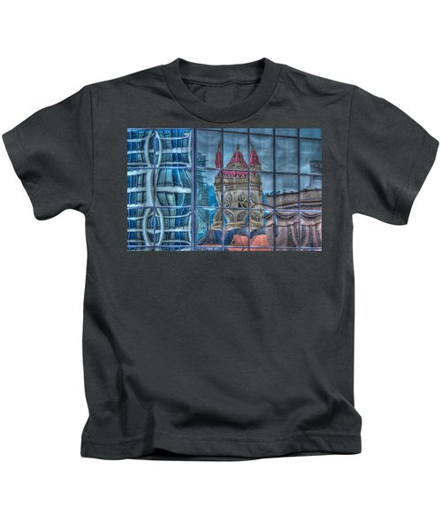 Distorted Portland Kids T-Shirt