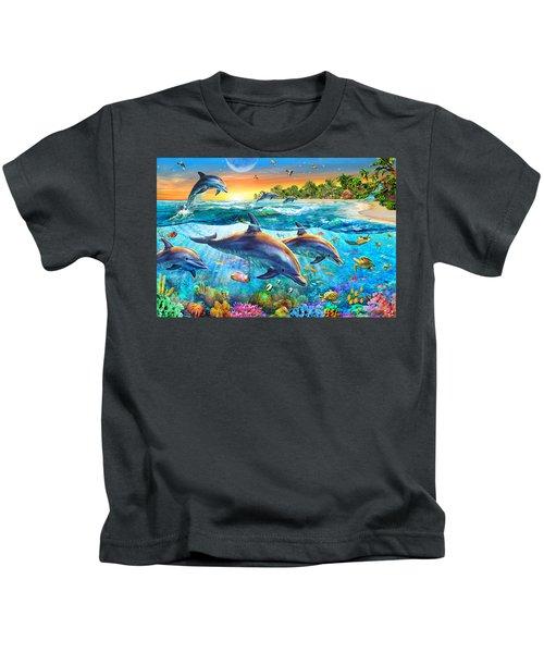 Dolphin Bay Kids T-Shirt
