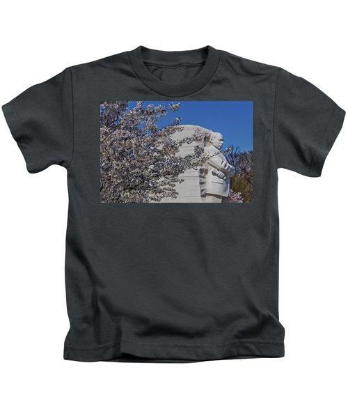 Dr Martin Luther King Jr Memorial Kids T-Shirt
