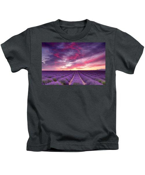 Drama In The Sky Kids T-Shirt