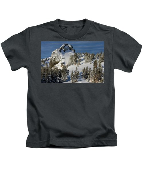 Dramatic View Of The Sprawling Kids T-Shirt