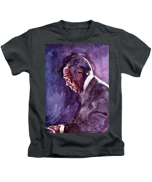 Duke Ellington Mood Indigo Sounds Kids T-Shirt