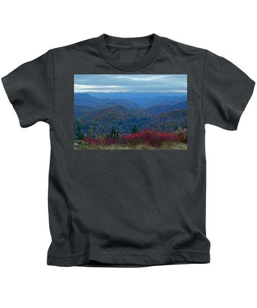 Dusk In Pastels Kids T-Shirt