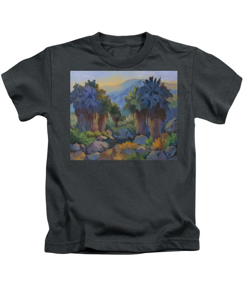 Early Light Indian Canyon Kids T-Shirt