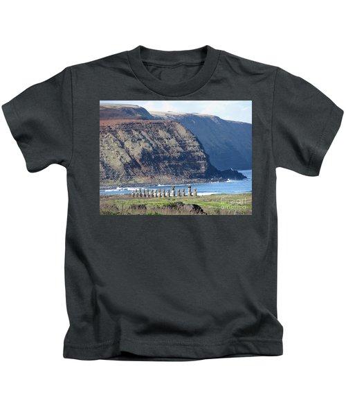 Easter Island Requiem Kids T-Shirt
