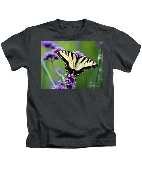 Eastern Tiger Swallowtail Butterfly 2014 Kids T-Shirt