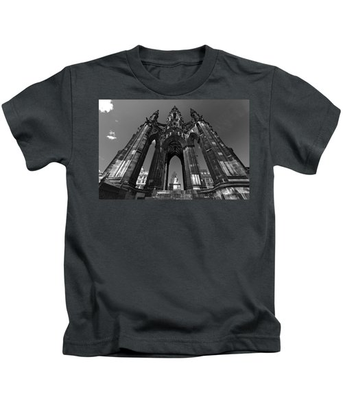 Edinburgh's Scott Monument Kids T-Shirt