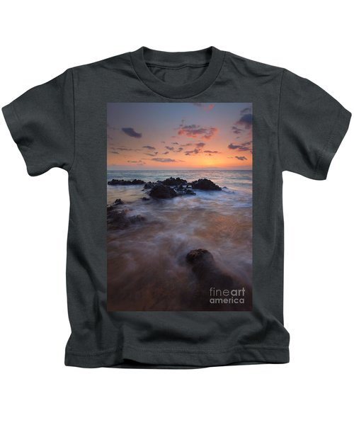 Engulfed By The Waves Kids T-Shirt