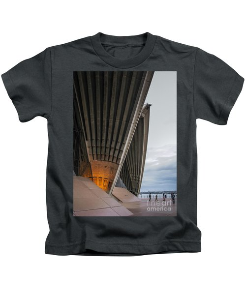 Entrance To Opera House In Sydney Kids T-Shirt