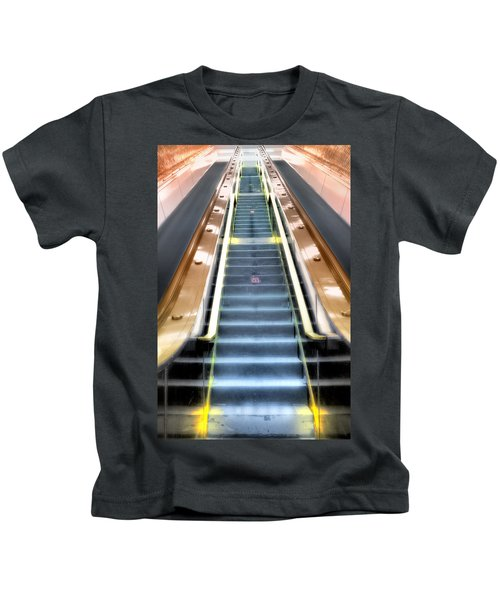 Escalator To Heaven Kids T-Shirt