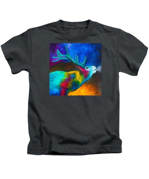 Evening Elk Kids T-Shirt