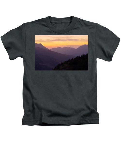 Evening Layers Kids T-Shirt