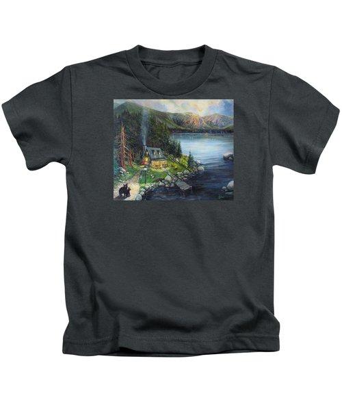 Evening Visitors Kids T-Shirt