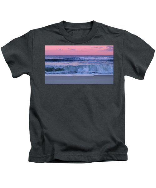 Evening Waves - Jersey Shore Kids T-Shirt