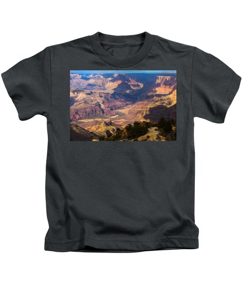 Expanse At Desert View Kids T-Shirt