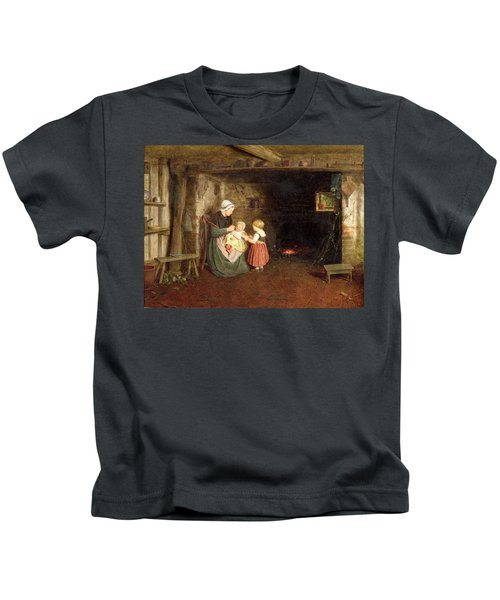 Expectation Interior Of A Cottage Kids T-Shirt