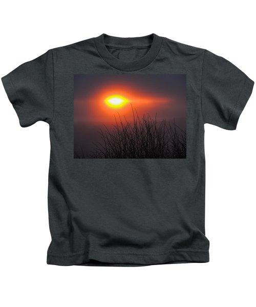 Eye Of Winter Kids T-Shirt