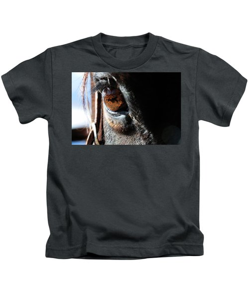 Eyeball Reflection Kids T-Shirt