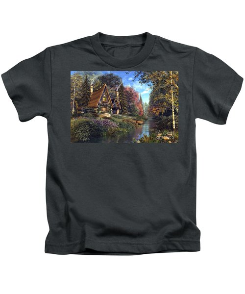 Fairytale Cottage Kids T-Shirt