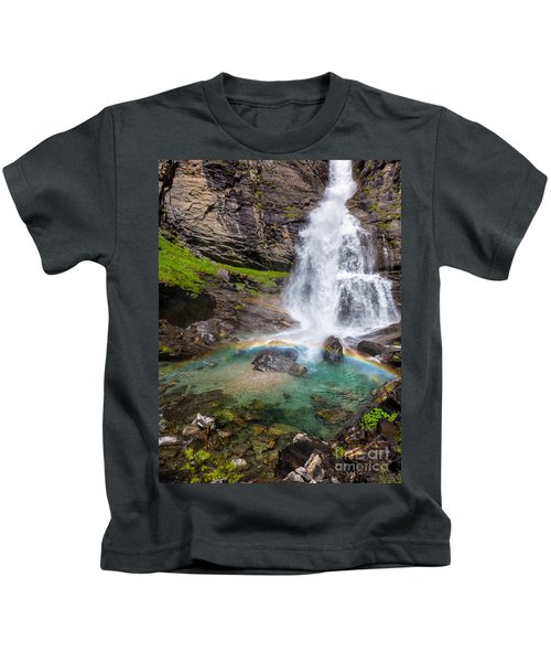 Fall And Rainbow Kids T-Shirt