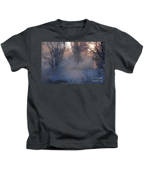 Fall River Steam Kids T-Shirt