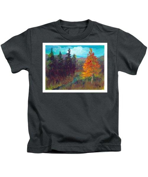 Fall View Kids T-Shirt