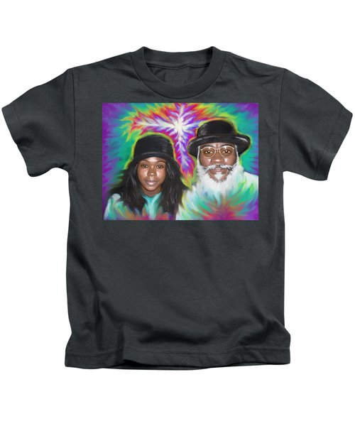 Father And Daughter Spirit Ministry  Kids T-Shirt