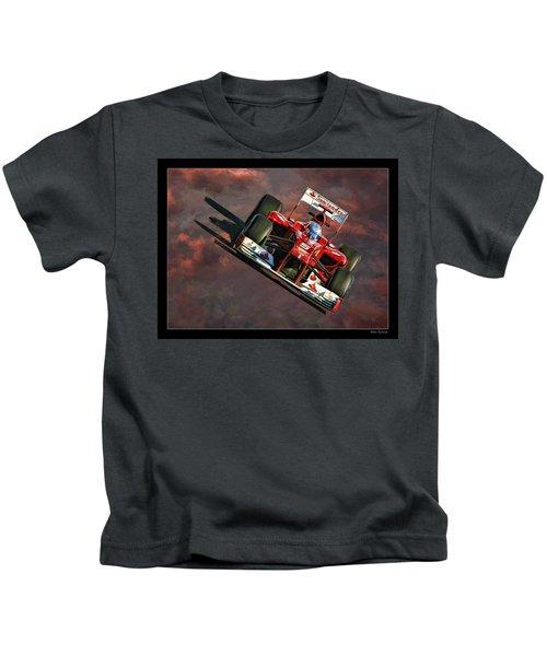 Fernando Alonso Ferrari Kids T-Shirt