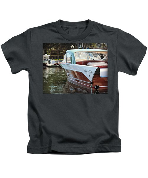 Finned Chris Craft Kids T-Shirt