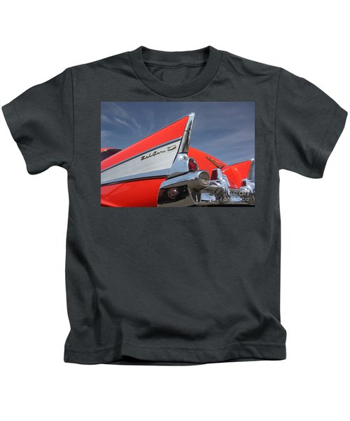 Fintastic '57 Chevy Kids T-Shirt