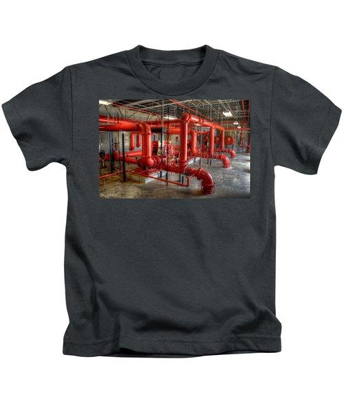 Fire Pump Room 2 Kids T-Shirt