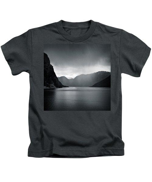Fjord Rain Kids T-Shirt